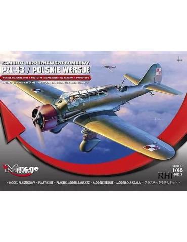 Mirage Hobby 481313 PZL.43...
