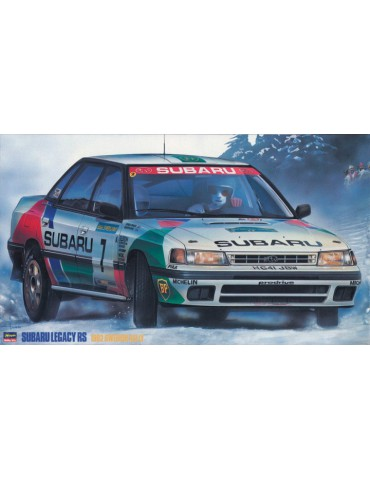 Hasegawa 20290 Subaru Legacy RS 1992 Swedish Rally Limited Edition 1/24