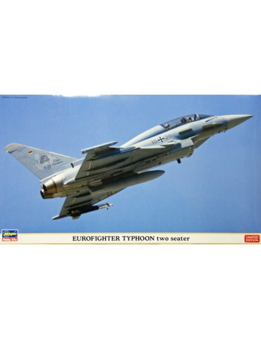 Hasegawa 02051 Eurofighter Typhoon Two-seater 1/72