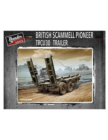 Thunder Model 35205 British Scammell Pioneer TRCU30 Trailer 1/35