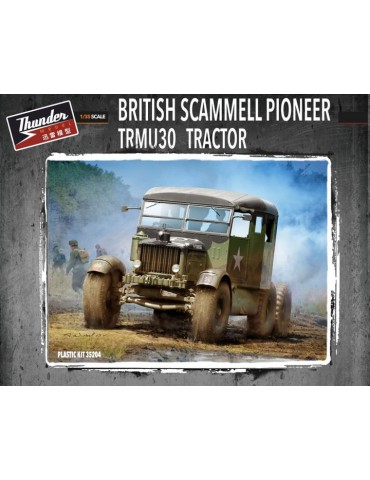 Thunder Model 35204 British Scammell Pioneer TRMU30 Tractor 1/35