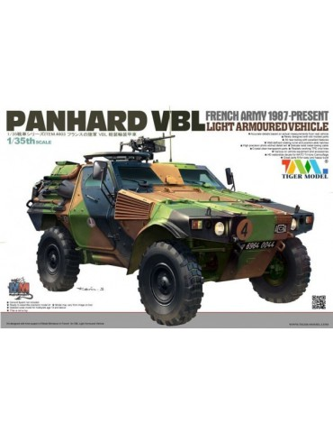 Tiger Model 4603 French Army 1987-Present PANHARD VBL Light Armoured Vehicle 1/35