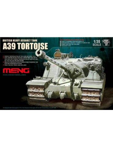 Meng TS-002 British Heavy Assault Tank A39 Tortoise 1/35