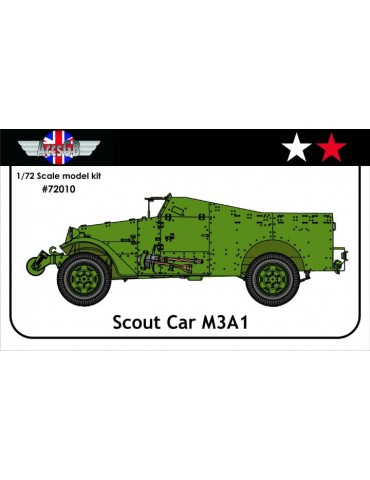 AGB 72010 White M3A1 Scout...