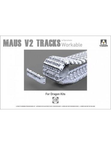 Takom 2094 MAUS V2 tracks...