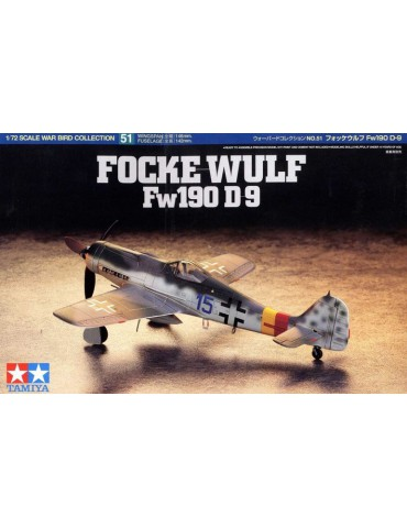 Tamiya 60751 Focke-Wulf Fw...