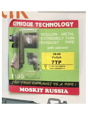 Moskit 35-09 Exhaust pipe...