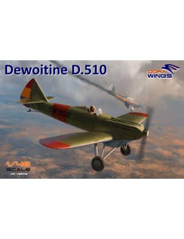 Dora Wings DW48008 Dewoitine D.510 1/48