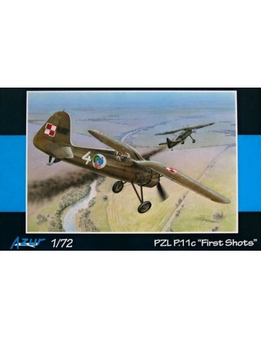 "Azur A112 PZL P.11c ""First..."