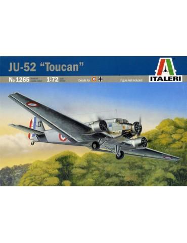 """Italeri 1265 JU-52 """"Toucan""""..."""