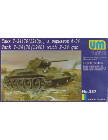 UM 337 Tank T-34/76 (1940)...