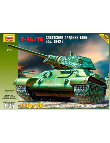 Звезда 3535 Танк Т-34/76...
