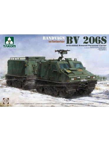Takom 2083 Bandvagn BV 206S Articulated Armored Personnel Carrier 1/35