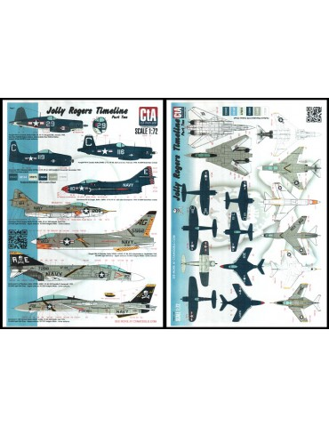 "Cut then Add CTA-006 ""Jolly Rogers Timeline - Part Two"" 1/72"