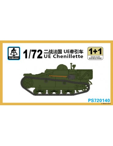 S-Model PS720140 UE Chenillette 1+1 Quickbuild 1/72
