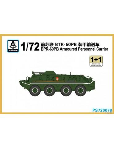 S-Model PS720078 БТР-60ПБ 1+1 Quickbuild 1/72