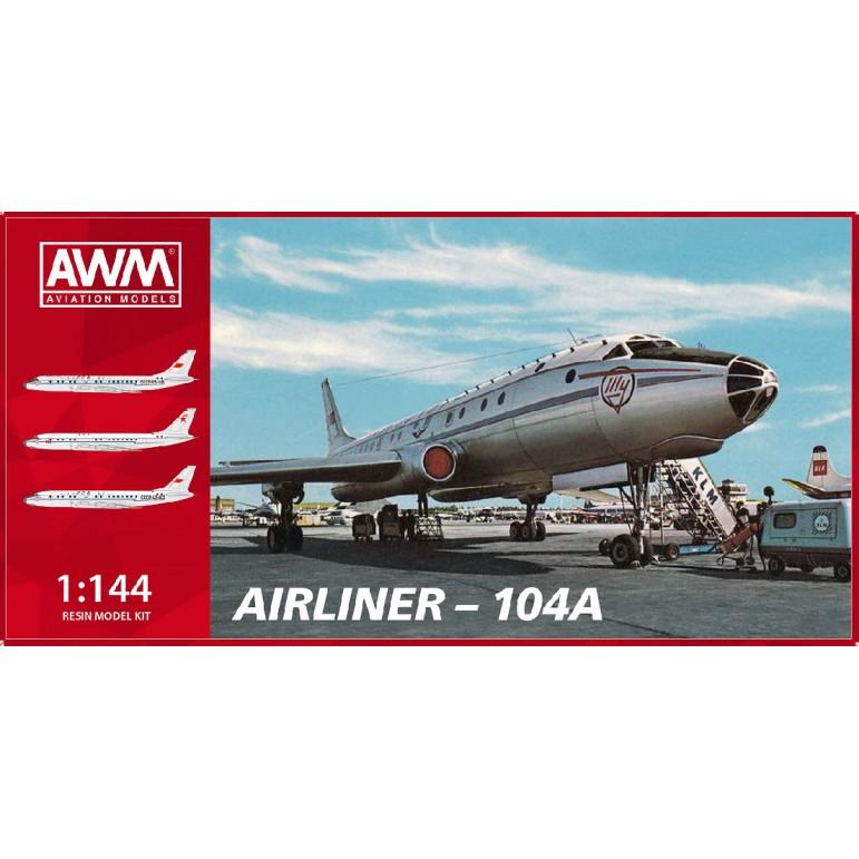 AWM Models 45104 Туполев Ту-104А 1/144