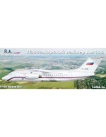RusAir 144RA02 Модель для сборки самолета Антонов Ан-148 1/144