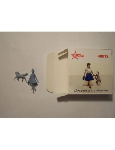 A-Resin 48012 Девушка с...