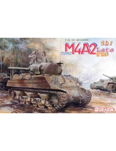 Dragon 6462 USMC M4A2 Late PTO 1/35
