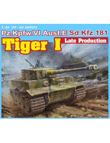 Dragon 6406 Pz.Kpfw. VI Tiger I Ausf. E Sd.Kfz. 181 late production (3 in 1) 1/35