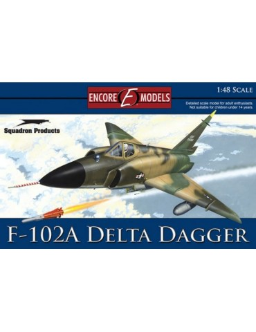 Encore Models 48001 Convair F-102A Delta Dagger (Case XX wing) 1/48