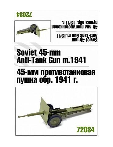 Zebrano 72034 45мм пушка...