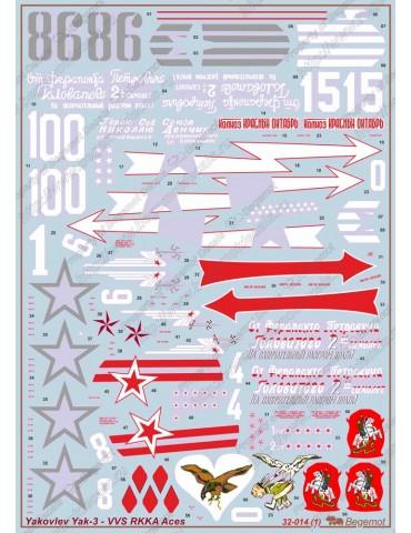 Begemot 32-014 Яковлев Як-3...