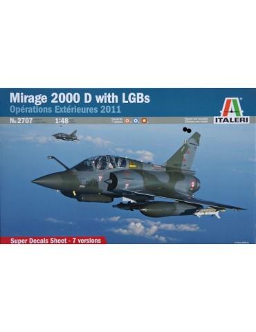 Italeri 2707 Mirage 2000D...