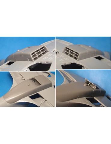 Vector VDS48-120 МиГ-3 радиатор (Trumpeter) 1/48