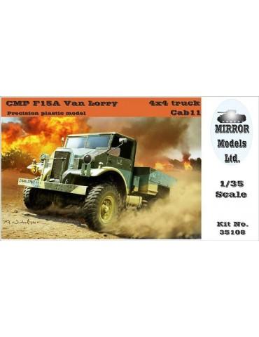 MIRROR Models 35108 CMP F15A Van Lorry 4x4 truck Cab 11 1/35