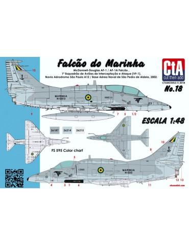 """Cut then Add CTA-018 """"Falcão do Marinha"""" 1/48"""