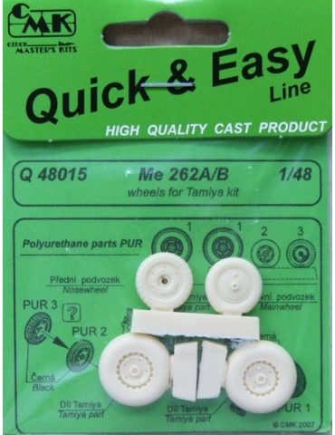 CMK Q48015 Me 262A/B Wheels...