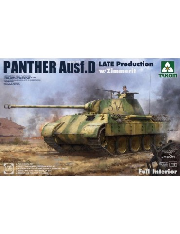 Takom 2104 Panther Ausf. D...