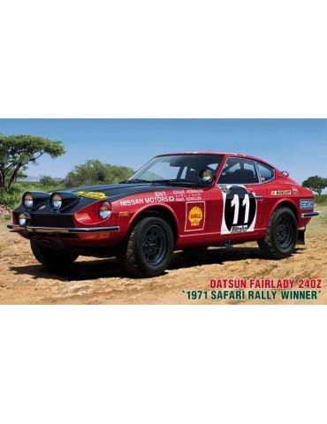 Hasegawa 21268 Datsun Fairlady 240Z 71 Safari Rally Winner 1/24