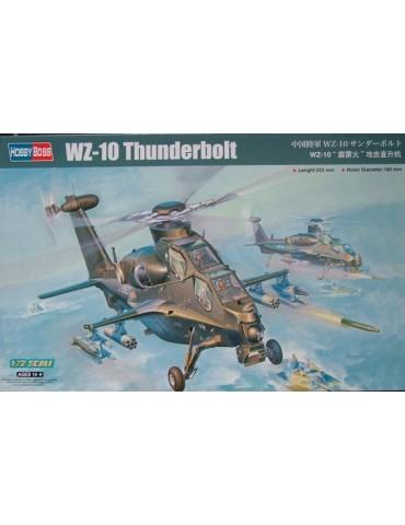 Hobby Boss 87260 Вертолёт WZ-10 Thunderbolt 1/72
