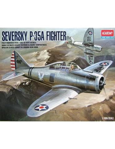 Academy 2180 Seversky P-35A...