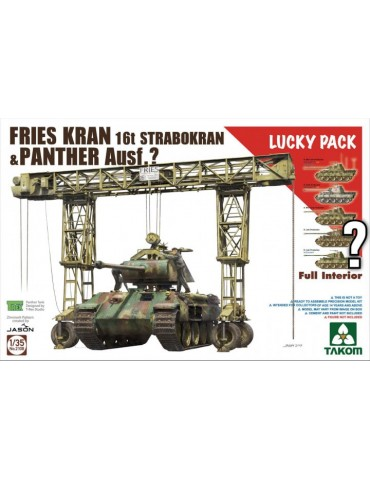 Takom 2108 Fries Kran 16t...