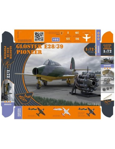 Clear Prop! CP72001 Gloster...