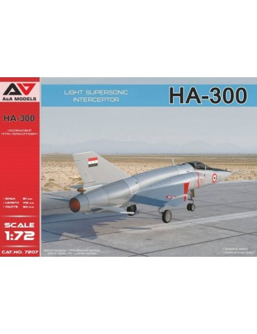 A&A Models 7207 Египетский легкий истребитель HA-300 1/72