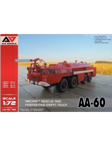 A&A Models 7201 Пожарный автомобиль AA-60 1/72