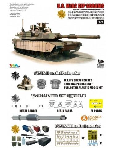 T-model TK7310-G U.S. M1A2...