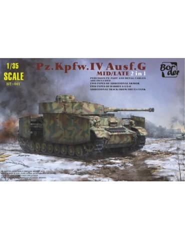Border BT-001 Pz.Kpfw.IV...