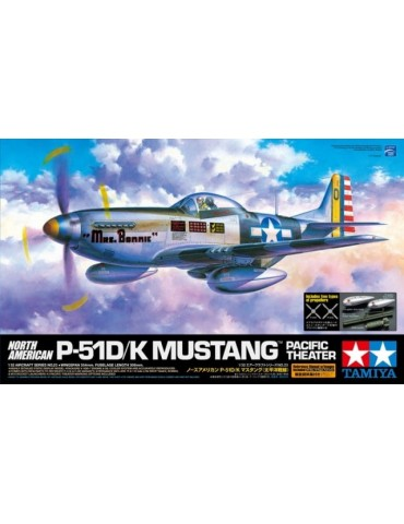 Tamiya 60323 North American P-51D/K Mustang Pacific Theater 1/32