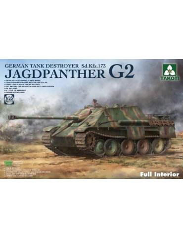 Takom 2118 Jagdpanther G2 Sd.Kfz. 173 Full Interior 1/35