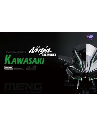Meng MT-001s Kawasaki Ninja H2™R (Pre-colored Edition) 1/9