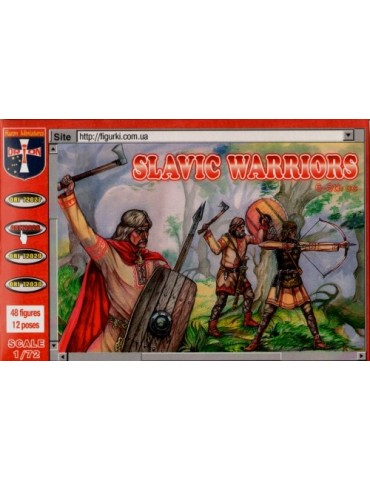 Orion 72028 Slavic Warriors 6-8th cc 1/72