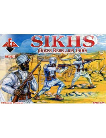 Red Box RB72021 Sikhs 1900...