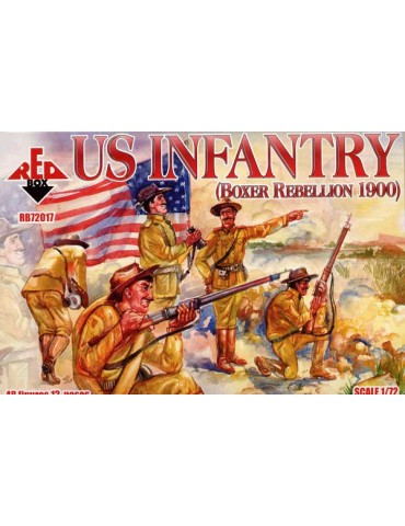 Red Box RB72017 US Infantry...