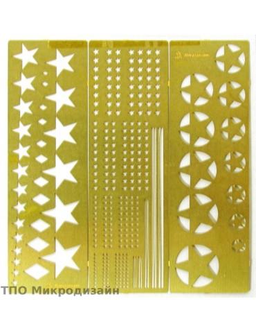 Микродизайн 100205 Трафарет...